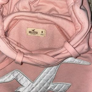 Pink Hollister Sweatshirt